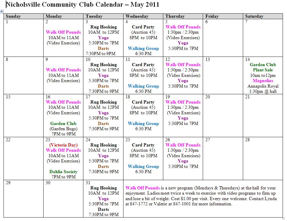 Calendar Showing May : May calendar pdf new hair shows
